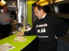 Bernaud Mauriange CV dans le TGV