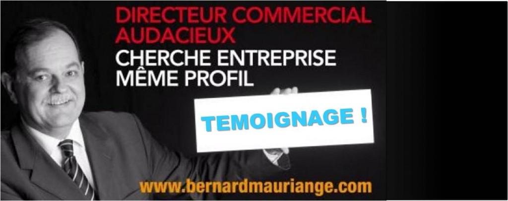 Interview Bernard Mauriagne, CV original et insolite !