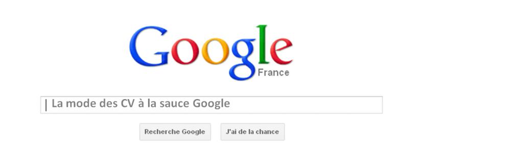 les CV originaux à la mode Google