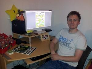 David Gillet et son CV original Mario Kart jeux vidéos