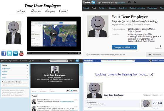 u00ab your dear employee  u00bb  le cv vid u00e9o myst u00e9rieux qui parodie