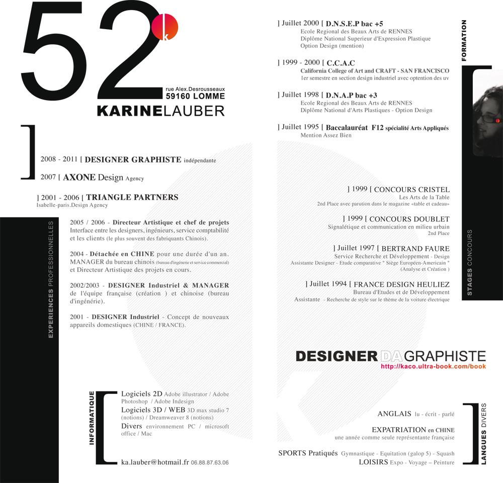 inspirez-vous avec une s u00e9lection de 13 cv papier design et originaux