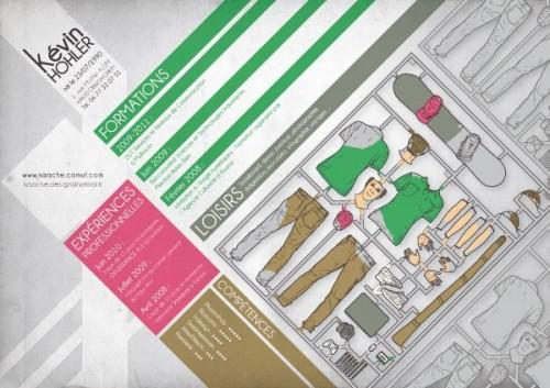 15 cv papier au design original pour booster votre