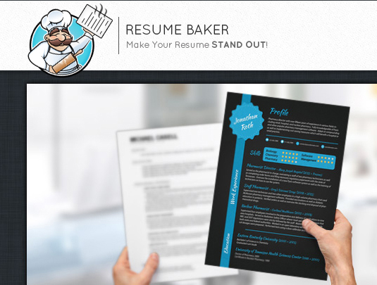 resumebaker  un site qui booste le design de votre cv