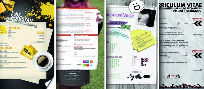 12 exemples de cv papier originaux pour booster la