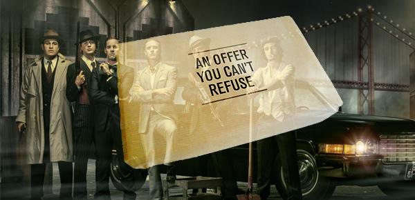 u00ab l u2019offre que vous ne pourrez pas refuser  u00bb   la candidature originale d u2019un apprenti mafieux