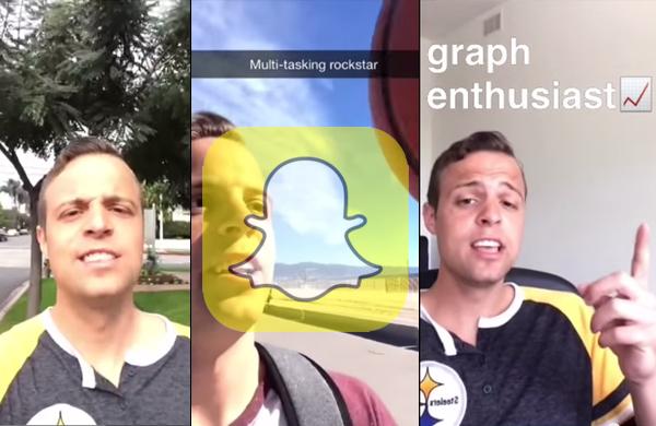 il r u00e9alise un cv sur snapchat pour postuler chez u2026 snapchat