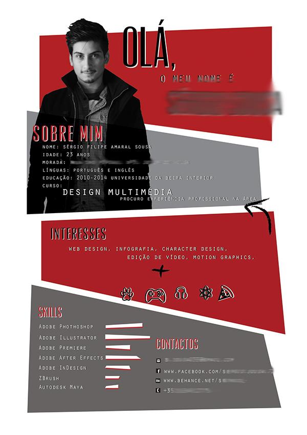 votre dose de cr u00e9ativit u00e9   12 exemples de cv papier au design original