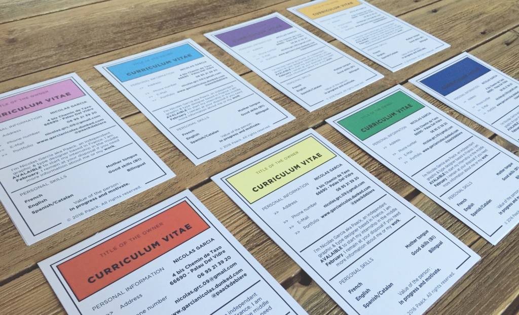 le cv version monopoly   se faire recruter  un jeu d