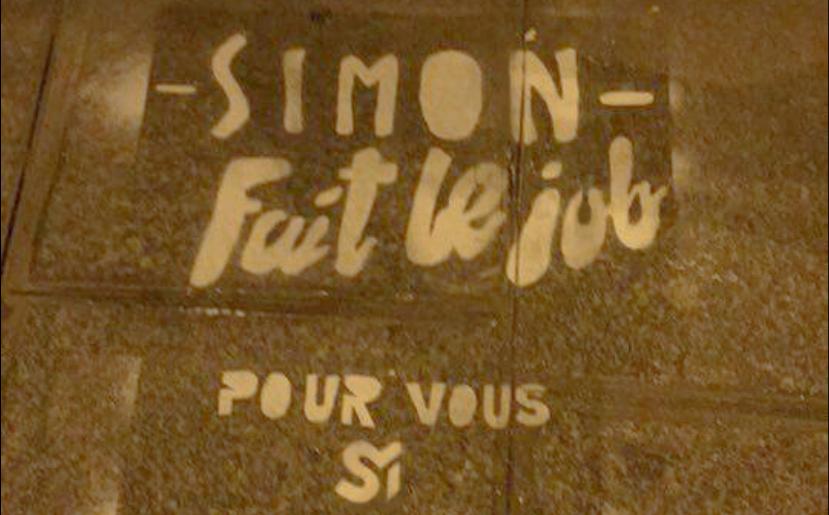 il tague sa candidature  u00e0 l u2019entr u00e9e des agences parisiennes