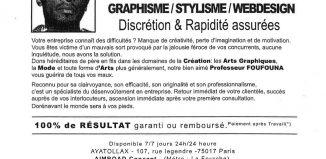 CV original marabout professeur foufouna